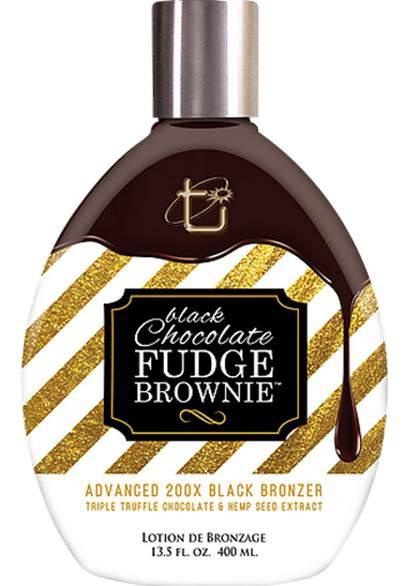 BLACK CHOCOLATE FUDGE BROWNIE 200x (400 ml)