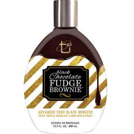 BLACK CHOCOLATE FUDGE BROWNIE 200x (400 ml)