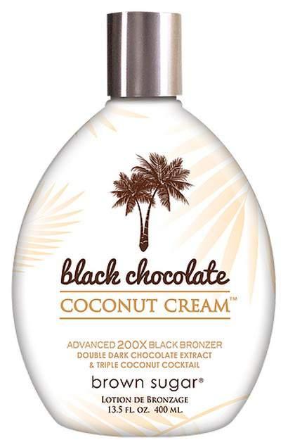 BLACK CHOCOLATE COCONUT CREAM 200x (400 ml)