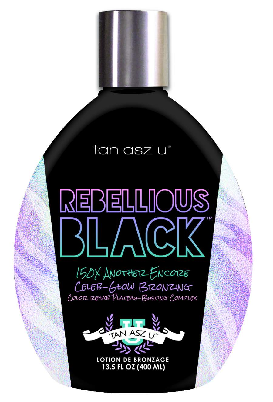 REBELLIOUS BLACK 150x (400ml)