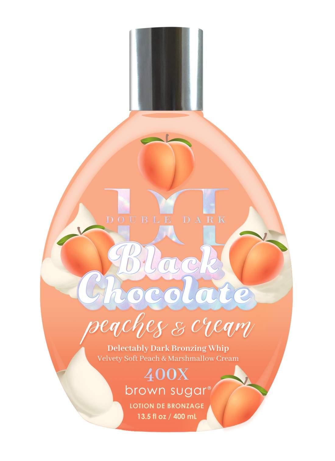 Double Dark Black Chocolate Peaches & Cream 400x (400 ml)